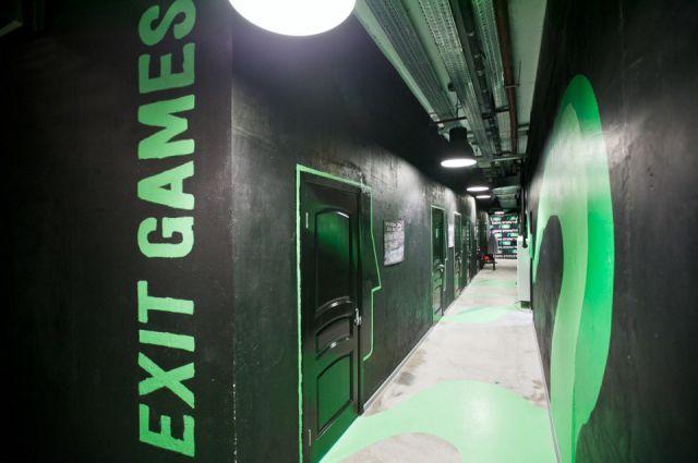 Лазертаг клуб ExitGames в Сургуте