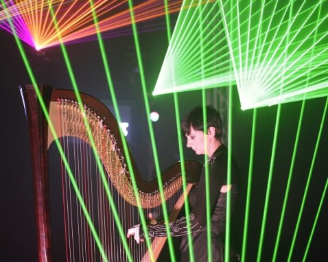 What is a Laser Harp