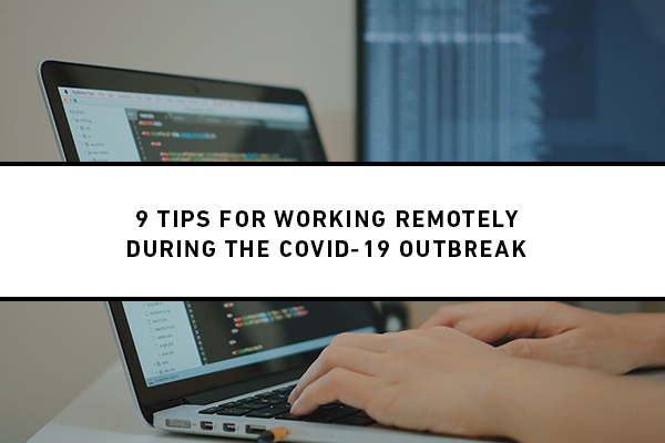 working remotely during covid19