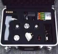 Portable, handheld Class 3B laser