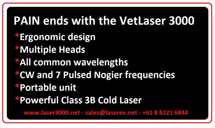 Class 3B Cold Laser