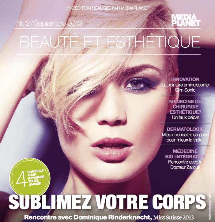 Mediaplanet Beaute et Esthetique N°2 septembre 2013 p1
