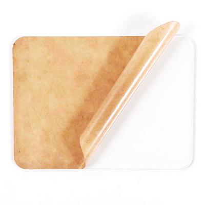 clear acrylic sheet with radius corners