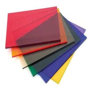 Perspex Tint Acrylic Sheets