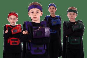 Her Blast Lasertag Kids Group