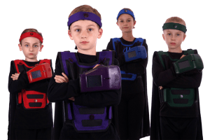 Her Blast Lasertag Kids Group