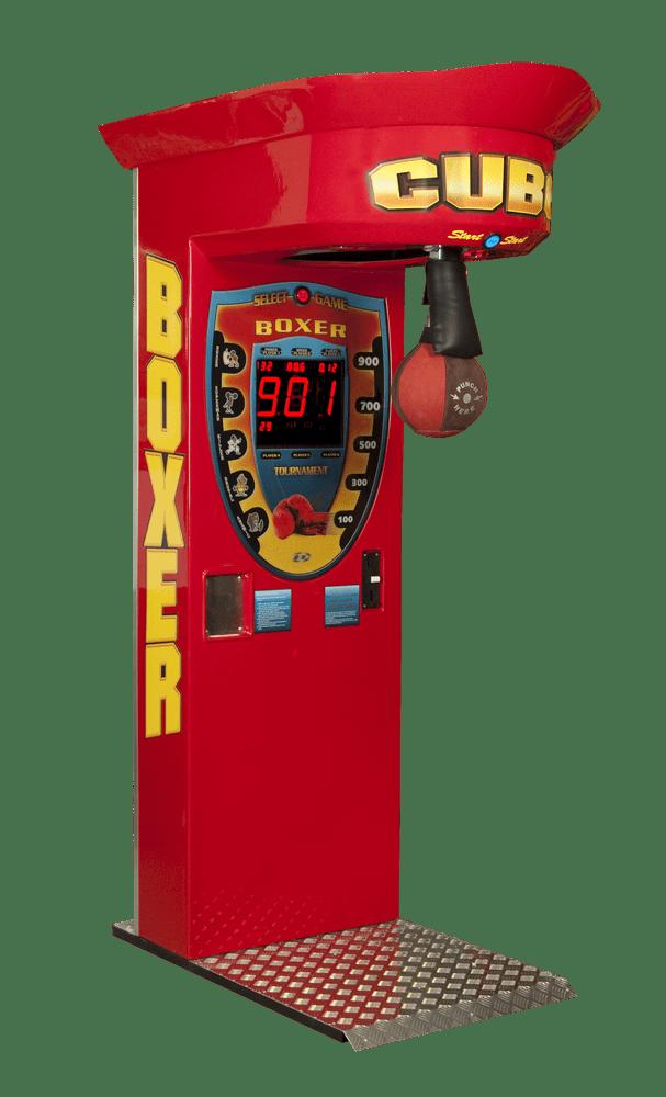 Boxer Modell Cube nur lackiert ohne Dekoration