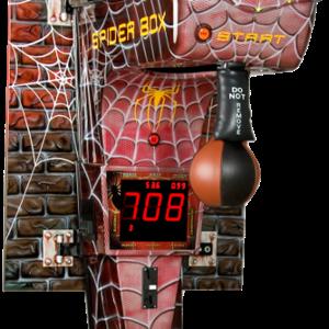 Boxautomat Modell Spider als Wandmontage - auch als Standgerät erhältlich