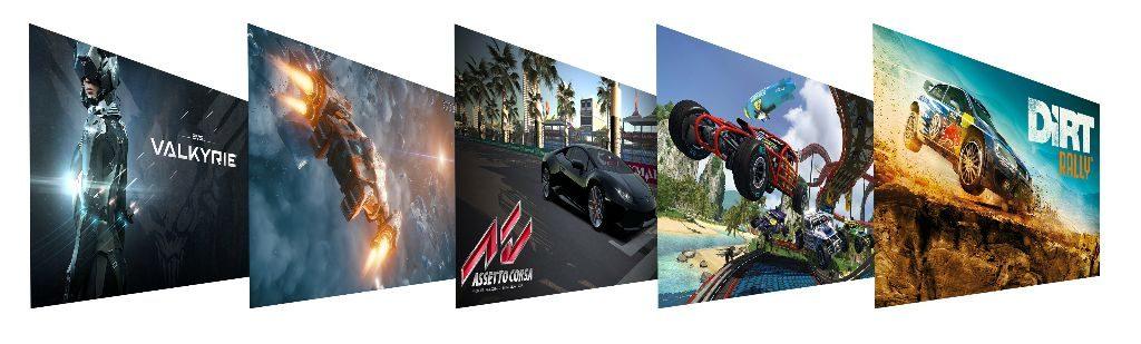VR kompatible Spiele