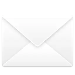 white email icon transparent background 6