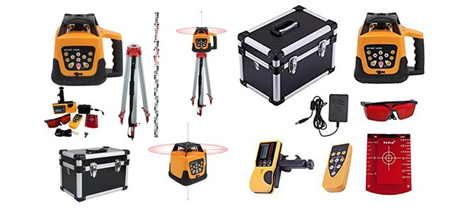 Ridgeyard Automatic Red Beam Rotary Rotating Laser Level Review