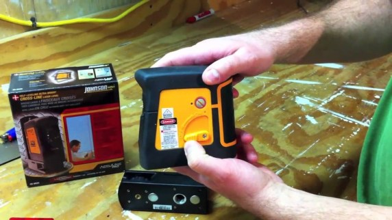 Johnson 40-6625 Self-Leveling Ultra-Bright Cross-Line Laser Level Review