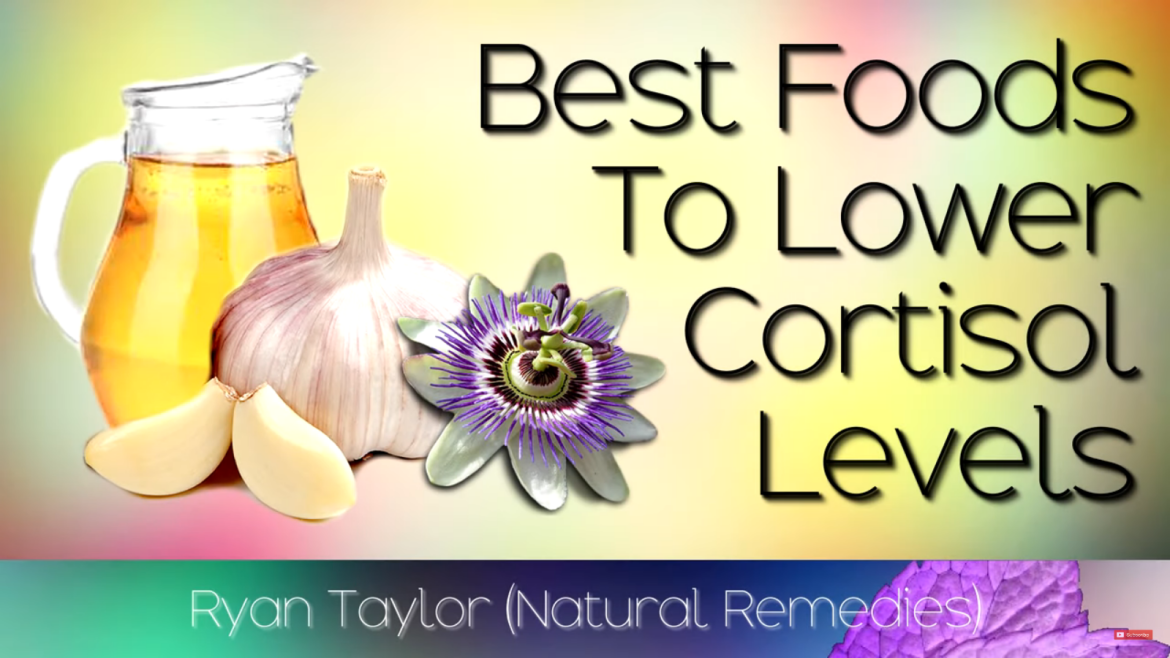 Lower your cortisol levels naturally