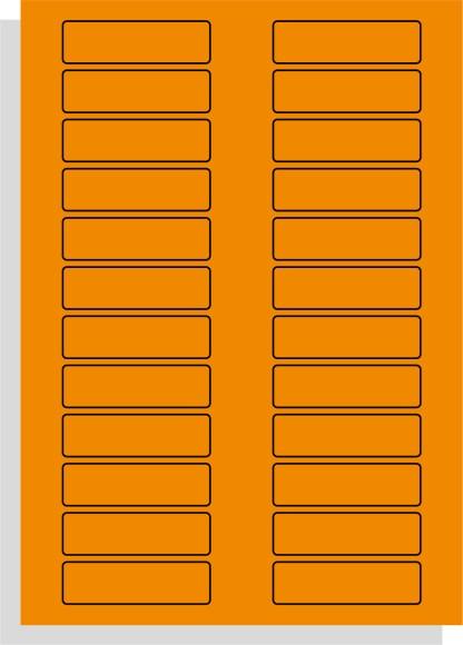 A4 lasererprinter etiketten