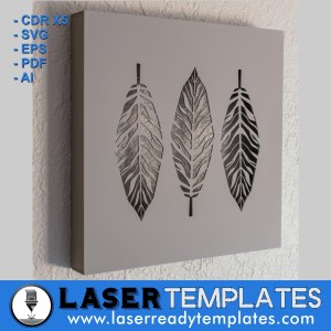 feathered stencil laser ready
