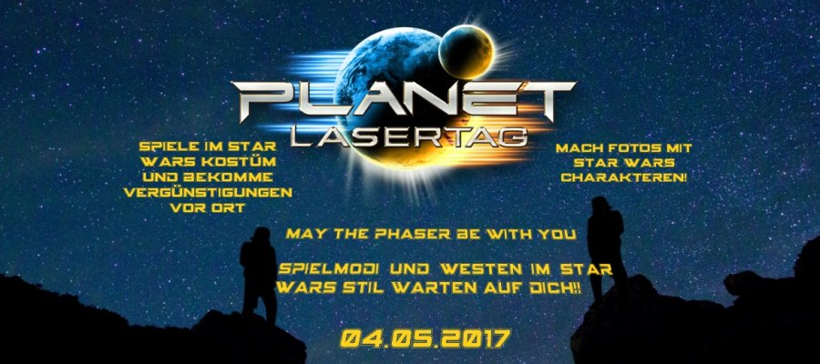 Lasertag Hannover Star Wars Day