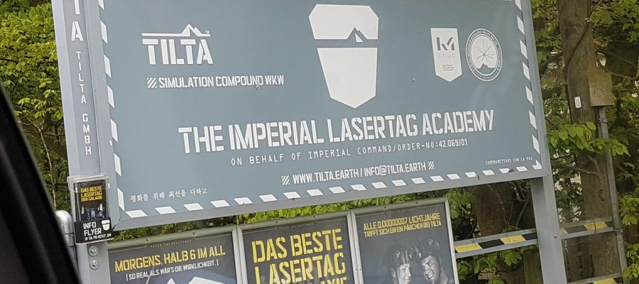 The Imperial Lasertag Academy