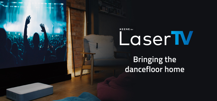 LaserTV | Bringing the dancefloor home