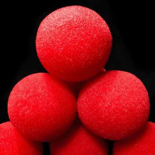 palline-spugna-rosse-goshman-magia-50mm