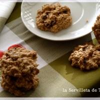 Cookies de pasas