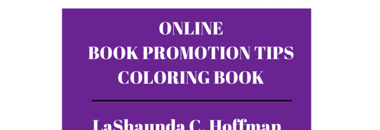 Pre – Order A to Z Online Book Promotion Tips Coloring Book