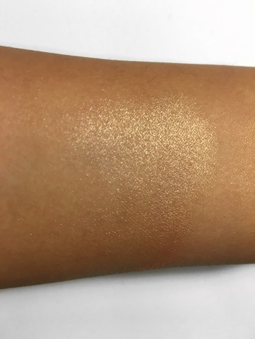 Swatch blended out