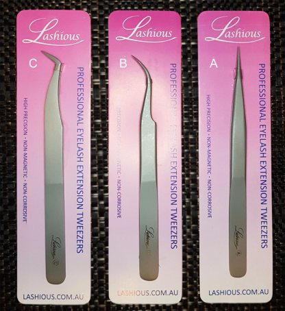 Eyelash Extension Tweezers by Lashious