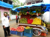 India, COlors, markets