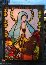 Quimbaya, Quindío, Colombia, noche de velas y faroles, 7 de diciembre de 2015
