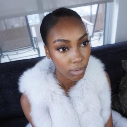 fur and eyelashes