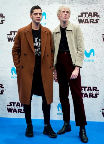 MADRID, SPAIN - DECEMBER 12: Eduardo Casanova during 'Star Wars: Los Ultimos Jedi' Madrid Premiere on December 12, 2017 in Madrid, Spain. (Photo by Samuel de Roman/Getty Images For Disney)