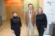 Nekane Aramburu, Joan Punyet y Marisa Delgado © La Siesta Press