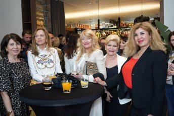 Concha Calvo, Mila Iglesias, Sedi Behvarrad, Marita Rehme e Isabel Agüero © La Siesta Press / J. Fernández Ortega