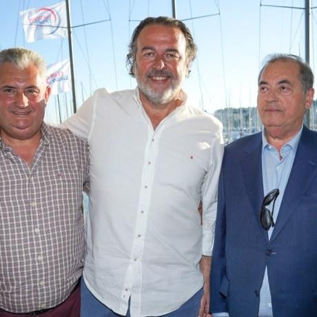 Antonio Méndez, Ramón Andres, Antonio Seijas Foto: © La Siesta Press | J. Fernández Ortega