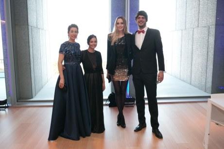 Mariana Chacón, Jaime Llabrés de Son Prim, Rachel Kirby y Anya Defries © La Siesta Press / J. Fernández Ortega