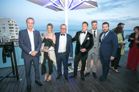 Oscar Ruiz, Paloma González, Kelly Lake, Gabriela Ruiz y Daniel Aldeguer © La Siesta Press / J. Fernández Ortega
