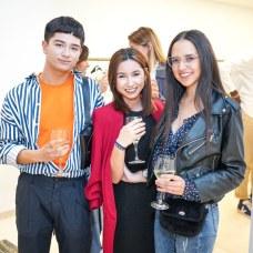 Christian Chen, Mari Carmen Nieto y Valeria Barrientos Foto: © La Siesta Press | J. Fernández Ortega