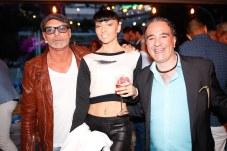 Paolo Bettini, Vera Ks y Alessandro Curci © La Siesta Press / J. Fernández Ortega