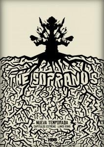 The Sopranos - Afiche