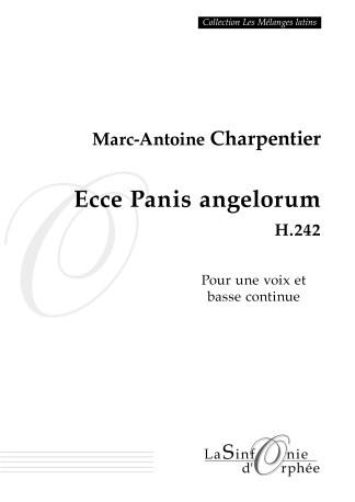 Ecce panis angelorum H.242