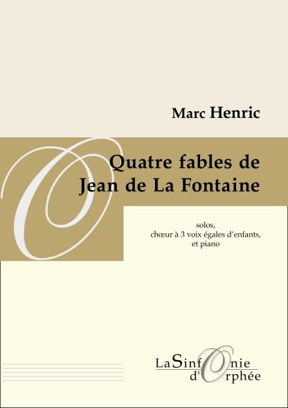 Quatre fables de Jean de La Fontaine
