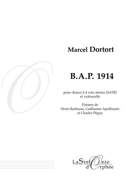 Marcel Dortort B.A.P. 1914