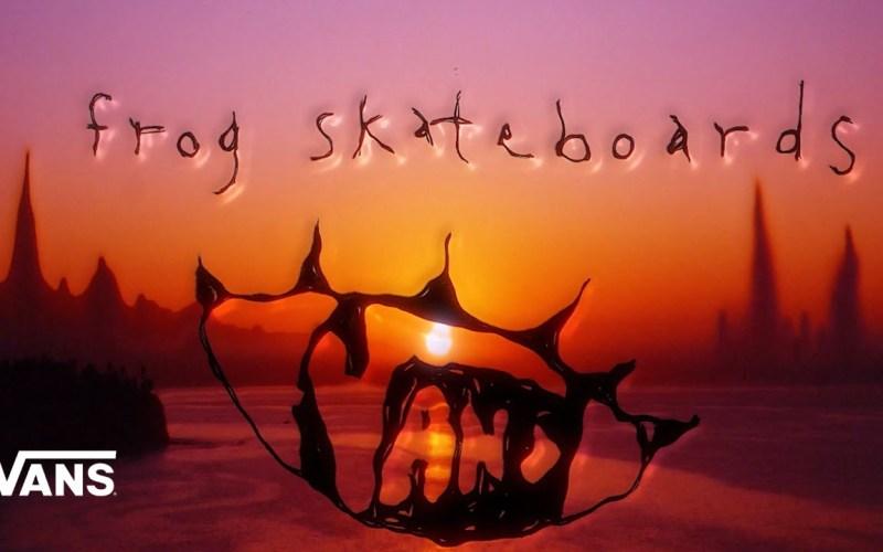 Vans Frog Skateboards