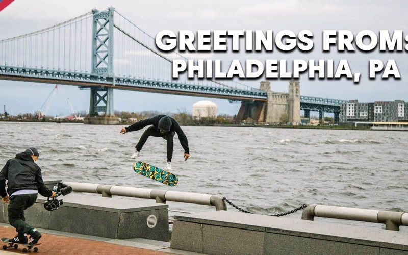 GREETINGS FROM Red Bull Skate