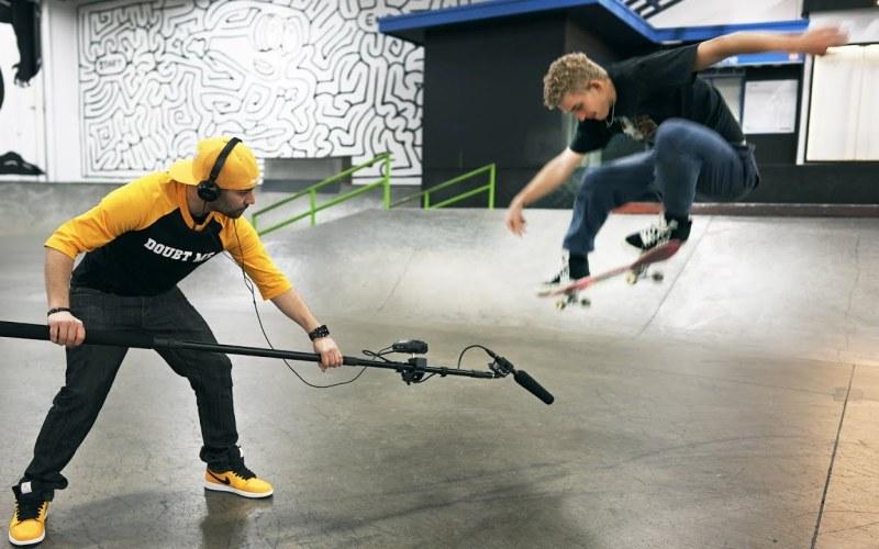 Making a Hip Hop/Rap Beat Using Skateboarding Sounds