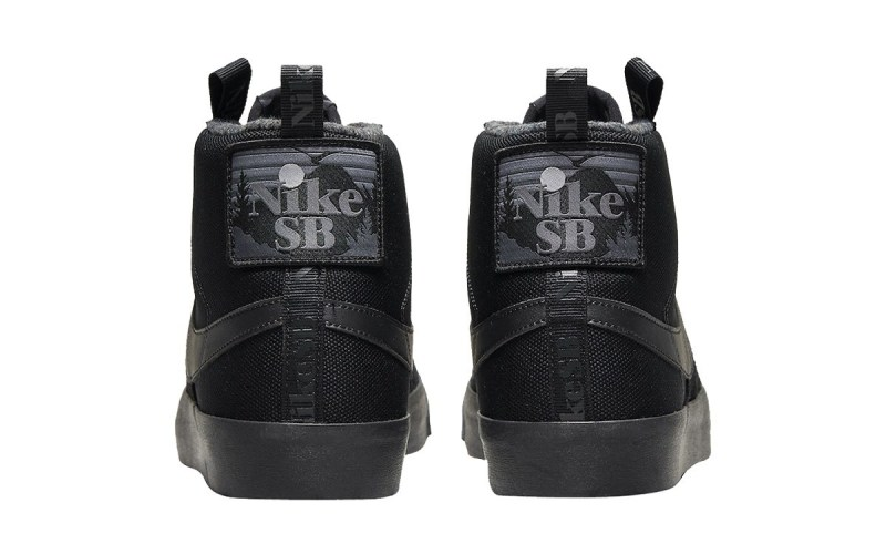 "Nike SB Blazer Mid ""Acclimate Pack"" Triple Black 5"