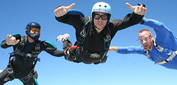 LA Skydiving: Accelerated Freefall (AFF)