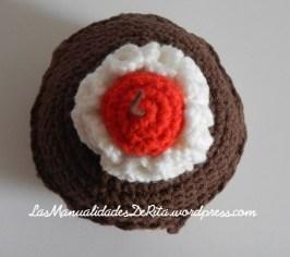 Cupcakes amigurumi (8)