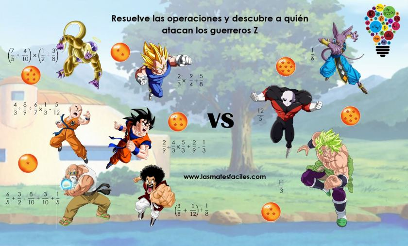 Dragon ball fracciones