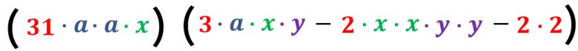 cuarto ejemplo factorizado y expresado en factores